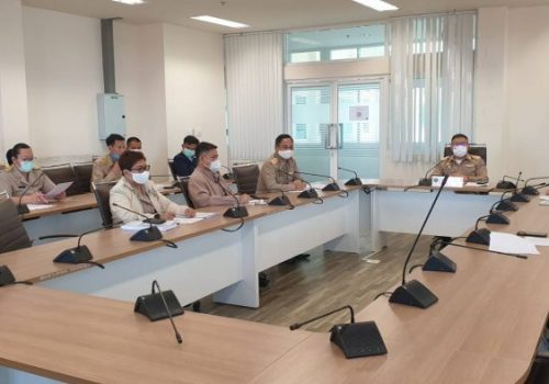 Khon Kaen Smart Living Lab joins smart city infrastructure development for health and emergency medicine with Khon Kaen Governor, depa, and governmental partners